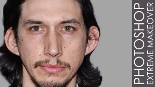 Download Photoshop Extreme Makeover - #38 Adam Driver Video