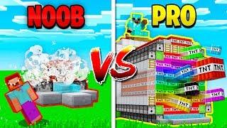 Download MINECRAFT NOOB vs PRO TNT WARS! (MCPE) Video