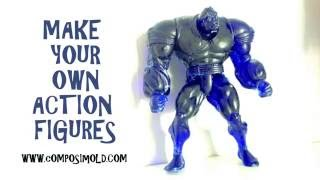 Download Make Your Own Plastic Action Figure with ComposiMold Video