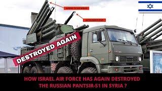 Download ISRAEL AGAIN DESTROYS RUSSIAN PANTSIR S1 IN SYRIA Video