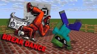 Download Monster School : BREAK DANCE CHALLENGE - Minecraft Animation Video