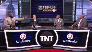Download Shaquille O'Neal and Charles Barkley Get Into It Over Lebron James | Inside the NBA | NBA on TNT Video