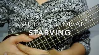 Download Starving (Hailee Steinfeld) - Ukulele Tutorial Video
