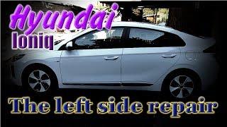 Download Hyundai Ioniq. Body repair. Ремонт кузова. Video