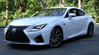 Download 2015 Lexus RC F Start Up, Road Test, and In Depth Review Video
