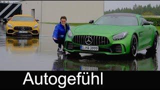 Download Mercedes AMG GT S vs GT R FULL REVIEW comparison road & racetrack test Mercedes-AMG - Autogefühl Video