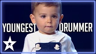 Download 2 Y.O Baby Drummer Is The Youngest Contestant on Got Talent | Kids Got Talent Video