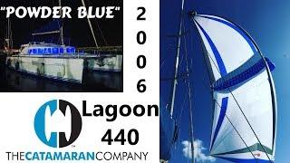 Download 2006 Lagoon 440 catamaran for sale in Florida ″Powder Blue″ Video
