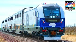 Download NEW Amtrak California Charger Locomotive Test Train Video