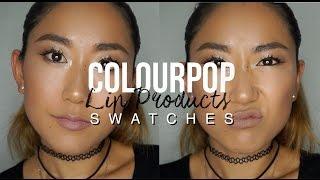 Download HUGE Colourpop LIP SWATCH on Asian/ Yellow-toned Skin // カラーポップ: リップ購入品&スウォッチ💄 Video