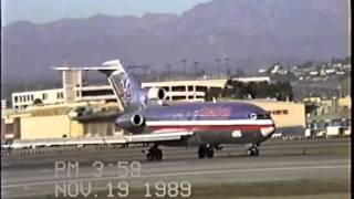 Download American Airlines Boeing 727-100 at LAX Video