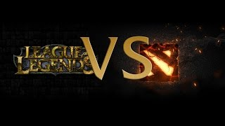 Download DOTA 2 vs LoL Explained Video