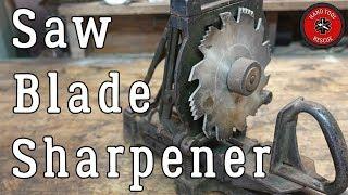 Download Antique Saw Blade Sharpener [Restoration] Video