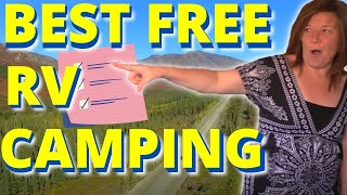 Download 9 Easy Tips for Finding Free Campsites: Boondocking & Stealth Camping Video