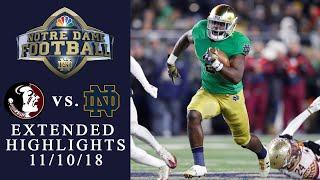 Download FSU vs. Notre Dame I EXTENDED HIGHLIGHTS I 11/10/18 I NBC Sports Video