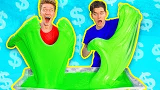 Download $1000 Slime Challenge! MOST EXPENSIVE DIY Giant Fluffy Slime!! Video