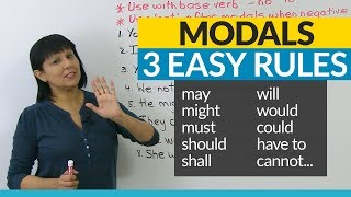 Download No more mistakes with MODALS! 3 Easy Rules Video