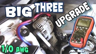 Download How To Install BIG THREE Upgrade | EXO's BIG 3 Car Audio Wiring Tutorial to Increase Power Flow Video