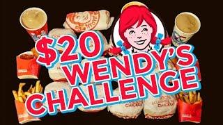 Download WENDY'S $20 VALUE MENU CHALLENGE!! Video