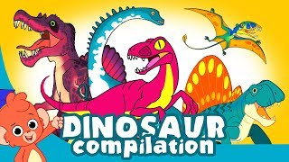 Download Learn Dinosaurs for Kids | Scary Dinosaur movie Compilation | Tyrannosaurus Velociraptor Video