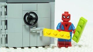 Download Lego Spiderman Brick Building Vault Animation For Kids Video