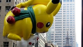 Download Macy's Thanksgiving Day Parade Balloons 2015, NYC Video