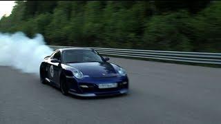 Download Porsche 911 Turbo (1500 HP) — accident Video