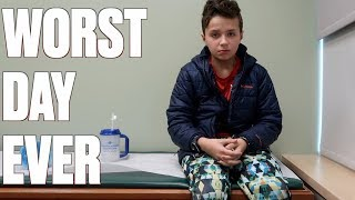Download STREP TEST GONE HORRIBLY WRONG | NOT FAKING SICK | WORST FEAR REALIZED Video
