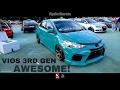 Download Toyota Vios 2017 Custom Body Kit - Borneo Kustom Show 2017 Video