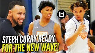 Download Cole Anthony & Jalen Green GET STEPH CURRY HYPE During Scrimmages at #SC30SelectCamp!! Video