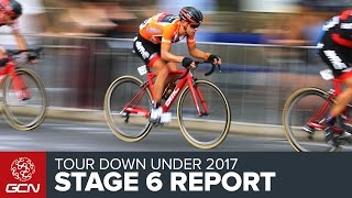 Download Tour Down Under Stage 6 Race Report Video