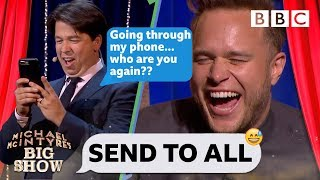 Download Send To All with Olly Murs - Michael McIntyre's Big Show: Series 2 Episode 1 - BBC One Video