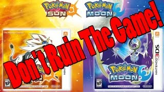 Download Don't Do These Things Before Playing Pokemon Sun and Moon! Video
