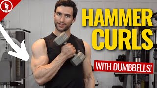Download How To Hammer Curl With Dumbbells - 3 Form Tips For Big Gains Video