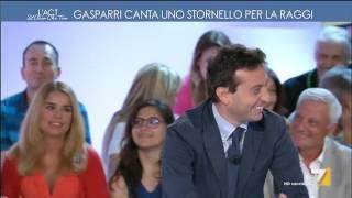 Download Gasparri canta uno stornello per la Raggi Video