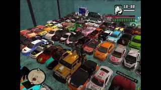 Download TUNING CARS ″2°Parte″ GTA SAN ANDREAS BRAZIL (NEW GARAGE) BY GEANE FULL HD 1080p Video