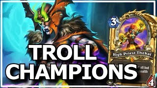 Download Hearthstone - Best of Legendary Troll Champions Video