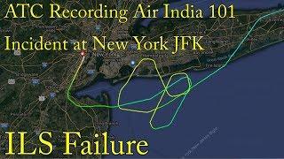 Download ATC RECORDING Air India 101 incident at New York JFK Airport ILS Failure Video