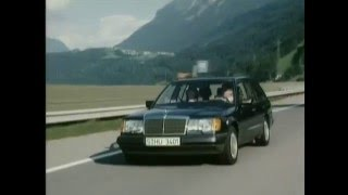 Download Mercedes Benz E-Class Station Wagons W124 S124 Specs Documentary Video