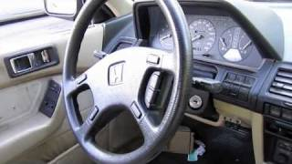 Download 1989 Honda Accord Coupe w/ 249k Miles, Start Up, Engine, and In Depth Tour Video