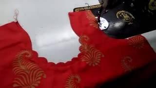 Download kangura neck design/latest suit neck design cutting&stitching in Hindi Video