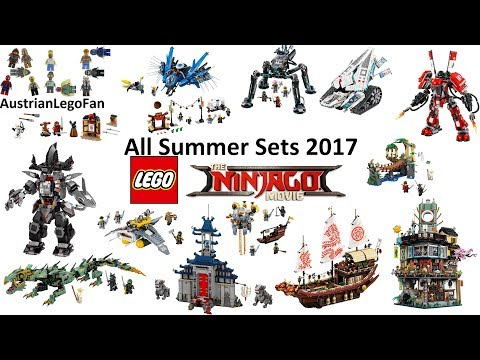 Stream All Lego Ninjago Movie Product Animations (HD) #346932 on Akefk