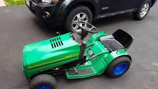 Download Racing mower build Video
