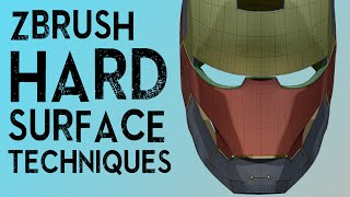 Download ZBrush Hard Surface Techniques I Video