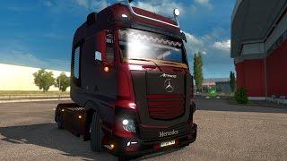 Download Euro Truck Simulator 2 - MEGA TUNING MOD | MERCEDES Video