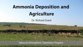 Download Ammonia Deposition and Agriculture Video