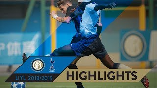 Download INTER-TOTTENHAM 1-1 | HIGHLIGHTS | UEFA Youth League 2018/19 Video