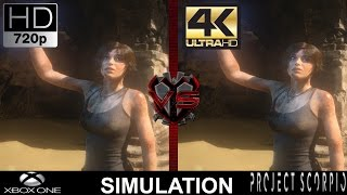 Download 720P VS 4K Gaming | Xbox One VS Project Scorpio Simulation | GTX 1080 | i7 5960X 4.5GHz Video