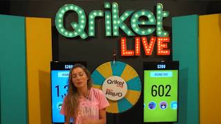 Download QriketLIVE Replay #309 - 5 Spins $200 Game Video