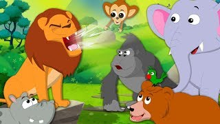 Download Roar Roar Lion | Kindergarten Nursery Rhymes For Children by Kids Tv Video